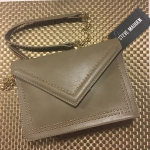 Steve Madden Studded Flap Crossbody